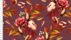 Jersey digital autumn flowers 4710