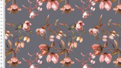 Viscose digital flower 4733